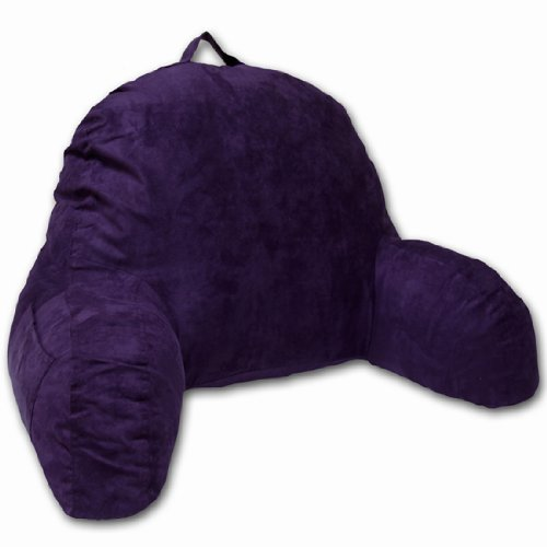 4. MICROSUEDE BEDREST PILLOW